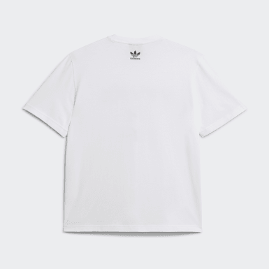 Men Originals White Human Made Short Sleeve Tee
