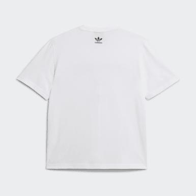 T-shirt Human Made Short Sleeve blanc Hommes Originals