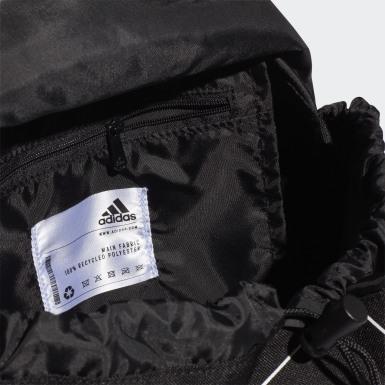 ผู้หญิง เทรนนิง สีดำ กระเป๋าสะพายหลัง Flap