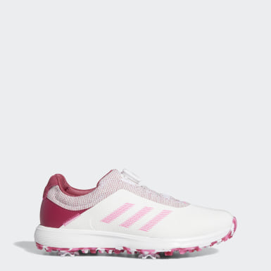 Women Golf White S2G BOA Golf Shoes