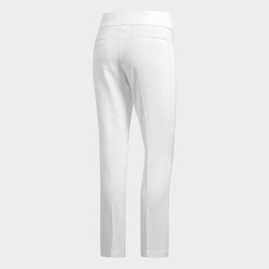 Calças Curtas Ultimate365 Adistar Branco Mulher Golfe