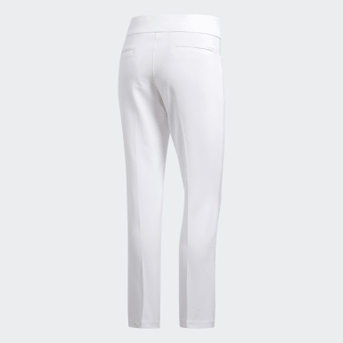 Women Golf White Ultimate365 Adistar Cropped Pants