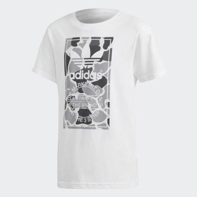 Genç Originals White Camo Trefoil Tişört