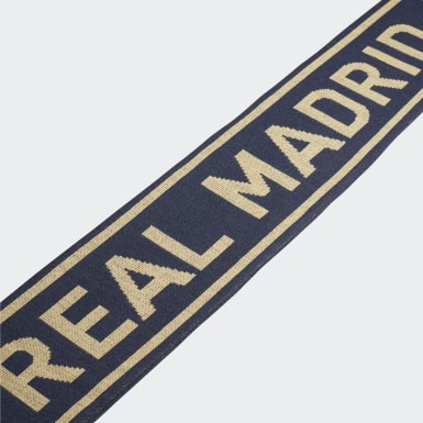 Fotboll Blå Real Madrid Scarf