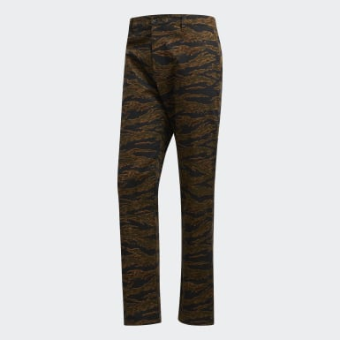 Men Originals Green Camouflage Chino Pants