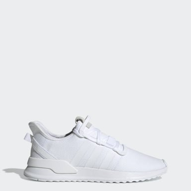 Men Originals White U_Path Run Shoes