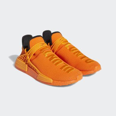 Tenis HU NMD Naranja Hombre Originals