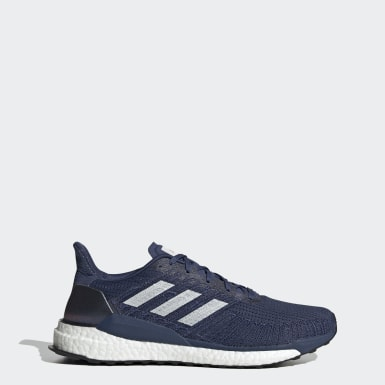 Men Running Blue Solarboost 19 Shoes