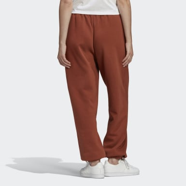 Pantaloni Cuffed Marrone Donna Originals