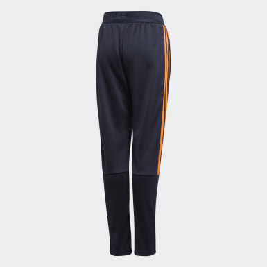 Boys Training Blue Tiro Tracksuit Bottoms