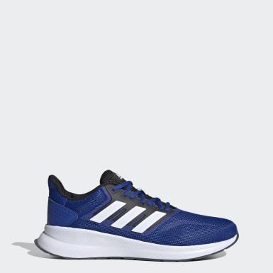 Tenis Runfalcon Azul Hombre Running