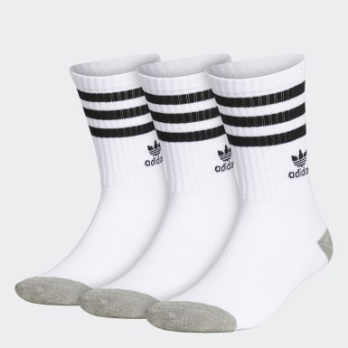 Essentials Multicolor Cushioned Crew Socks 3 Pairs