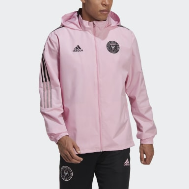 Men's Soccer Pink Inter Miami CF All-Weather Jacket