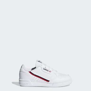 Children Originals White Continental 80 Shoes