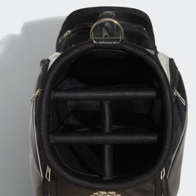Men Golf Black Caddie Bag