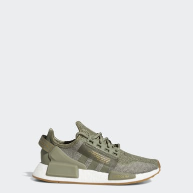 Youth Originals Green NMD_R1 V2 Shoes