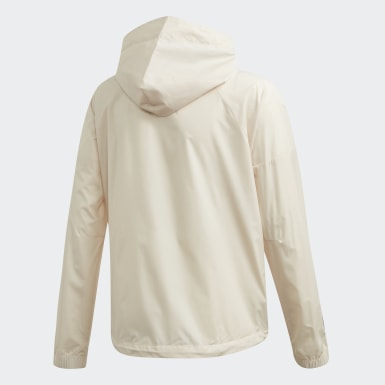 Coupe-vent Parley Beige Filles Training