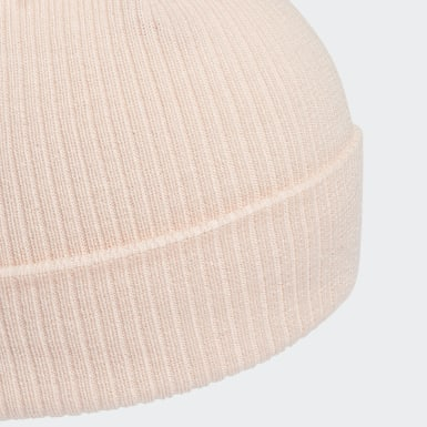 Women's Originals Pink Faux Fur Pompom Beanie
