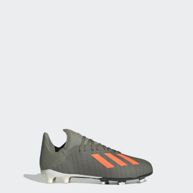 Barn Fotboll Grön X 19.3 Firm Ground Boots