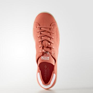Calzado Stan Smith Primeknit Naranja Mujer Originals