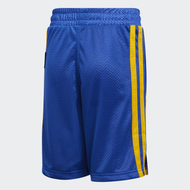 Children Basketball Blue Young Creators Legend Basketball Shorts