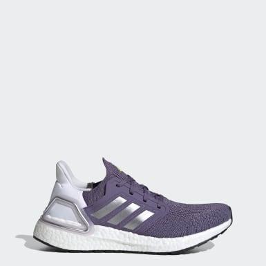 Tenis para correr Ultraboost 20 Violeta Mujer Running