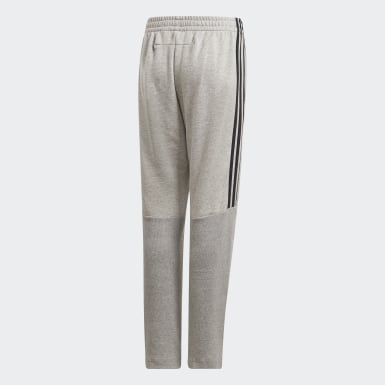 Pantaloni Must Haves Tiro Grigio Ragazzo Training