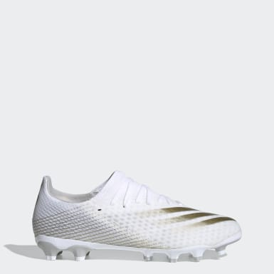 Football White X Ghosted.3 Multi-Ground Boots