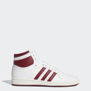Originals Top Ten Hi Schuh Weiß
