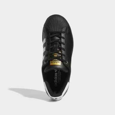 Youth Originals Black Superstar Stan Smith Shoes