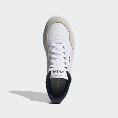Tennis Courtrook Schuh Weiß