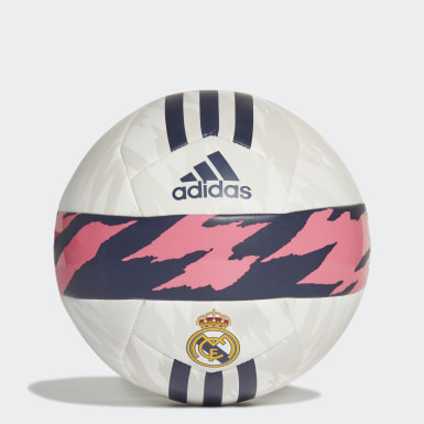 Men's Soccer White Real Madrid Club Ball