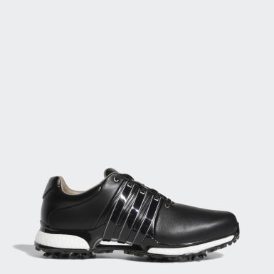Men Golf Black Tour360 XT Wide Shoes