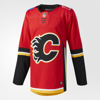 Flames Home Authentic Pro Jersey