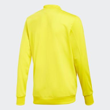 Kinder Fußball Condivo 18 Jacke Gelb