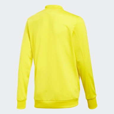 Børn Fodbold Gul Condivo 18 jakke