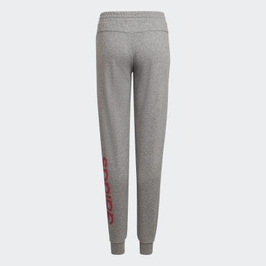 Girls Training Grey Linear Pants
