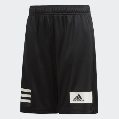 Boys Training Black Cool Shorts