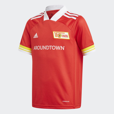 Barn Fotboll Röd 1. FC Union Berlin 20/21 Home Jersey