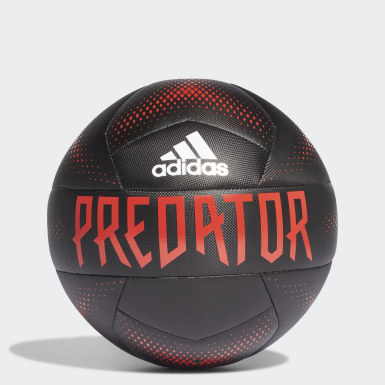 Men's Soccer Black Predator Training Ball