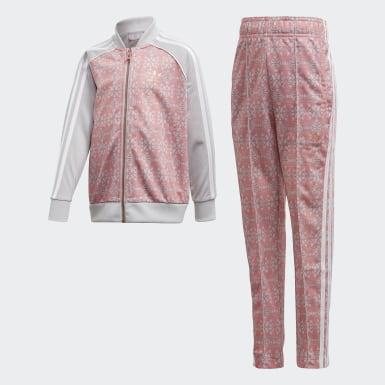 Kids Originals Pink Allover Print SST Suit