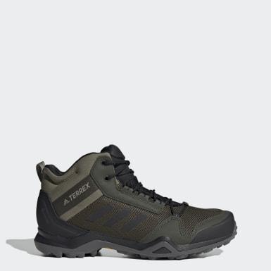 Sapatos de Caminhada AX3 Mid GORE-TEX TERREX Verde Homem TERREX