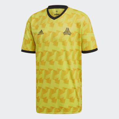 Men Football Yellow TAN Jersey