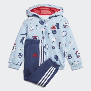 синий Комплект: толстовка и брюки Graphic