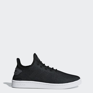 Sport Inspired Black Court Adapt Shoes