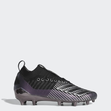 Men's Football Black Adizero 8.0 Primeknit Cleats