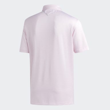 Men Golf Pink Adipure New Ottoman Polo Shirt