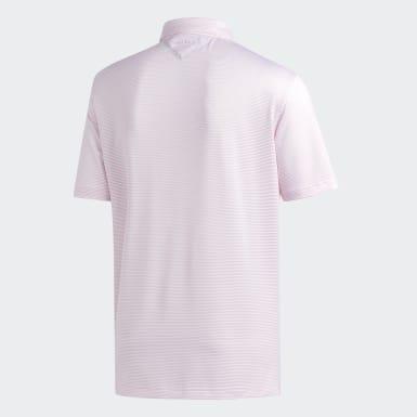 Heren Golf Roze Adipure New Ottoman Poloshirt