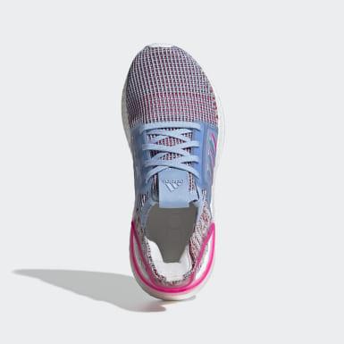 Chaussure Ultraboost 19 bleu Adolescents Course