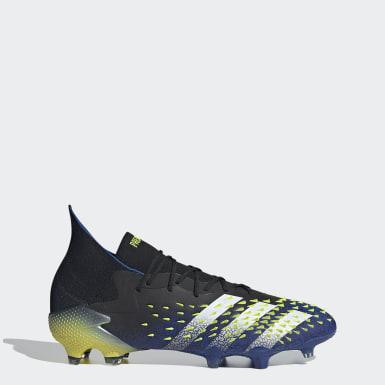 Bota de fútbol Predator Freak.1 césped natural seco Negro Fútbol